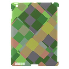 Squares And Other Shapes Apple Ipad 3/4 Hardshell Case (compatible With Smart Cover) by LalyLauraFLM