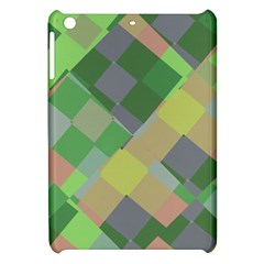 Squares And Other Shapes Apple Ipad Mini Hardshell Case by LalyLauraFLM