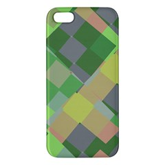 Squares And Other Shapes Iphone 5s Premium Hardshell Case by LalyLauraFLM