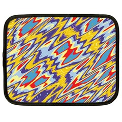 Colorful Chaos Netbook Case (large)