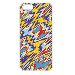 Colorful Chaos Apple Iphone 5 Seamless Case (white) by LalyLauraFLM