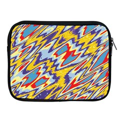 Colorful Chaos Apple Ipad 2/3/4 Zipper Case by LalyLauraFLM