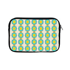 Blue Flowers Pattern Apple Ipad Mini Zipper Case by LalyLauraFLM