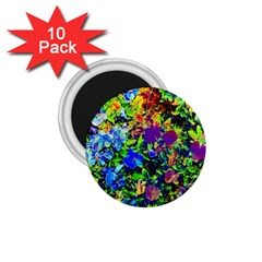 The Neon Garden 1 75  Magnets (10 Pack)  by rokinronda