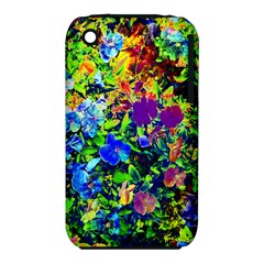 The Neon Garden Apple Iphone 3g/3gs Hardshell Case (pc+silicone) by rokinronda
