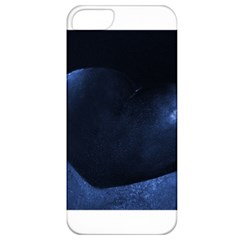Blue Heart Collection Apple Iphone 5 Classic Hardshell Case
