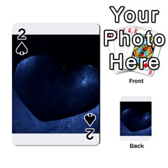 Blue Heart Collection Playing Cards 54 Designs
