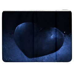 Blue Heart Collection Samsung Galaxy Tab 7  P1000 Flip Case by timelessartoncanvas