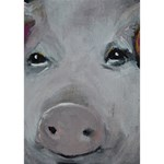 Piggy No. 1 Ribbon 3D Greeting Card (7x5)  Inside