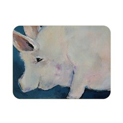 Piggy No  2 Double Sided Flano Blanket (mini)  by timelessartoncanvas