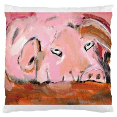 Piggy No 3 Large Cushion Cases (two Sides)