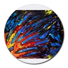 The Looking Glas Round Mousepads