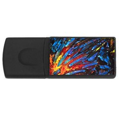The Looking Glas Usb Flash Drive Rectangular (4 Gb)  by timelessartoncanvas