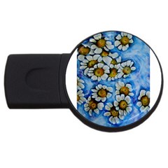 Floating On Air Usb Flash Drive Round (2 Gb)  by timelessartoncanvas