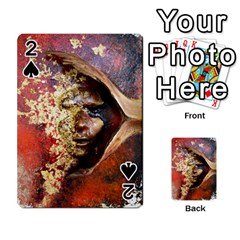 Red Mask Playing Cards 54 Designs  by timelessartoncanvas
