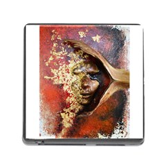 Red Mask Memory Card Reader (square) by timelessartoncanvas