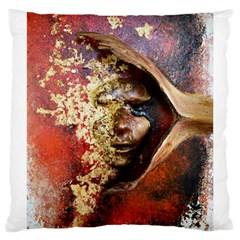 Red Mask Large Cushion Cases (two Sides)  by timelessartoncanvas