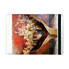 Red Mask Apple Ipad Mini Flip Case by timelessartoncanvas