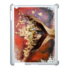 Red Mask Apple Ipad 3/4 Case (white) by timelessartoncanvas