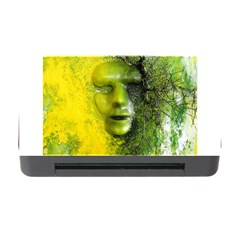 Green Mask Memory Card Reader With Cf by timelessartoncanvas