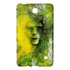 Green Mask Samsung Galaxy Tab 4 (8 ) Hardshell Case  by timelessartoncanvas