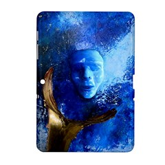 Blue Mask Samsung Galaxy Tab 2 (10 1 ) P5100 Hardshell Case  by timelessartoncanvas