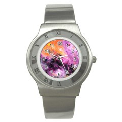 Nebula Stainless Steel Watches by timelessartoncanvas