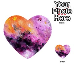 Nebula Multi-purpose Cards (heart)