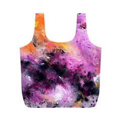 Nebula Full Print Recycle Bags (m)  by timelessartoncanvas