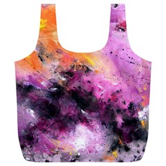 Nebula Full Print Recycle Bags (l)  by timelessartoncanvas