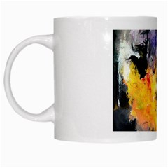 Space Odessy White Mugs by timelessartoncanvas