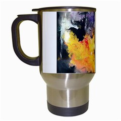 Space Odessy Travel Mugs (white) by timelessartoncanvas