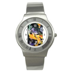 Space Odessy Stainless Steel Watches by timelessartoncanvas