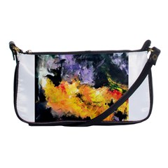 Space Odessy Shoulder Clutch Bags by timelessartoncanvas