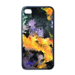 Space Odessy Apple Iphone 4 Case (black) by timelessartoncanvas