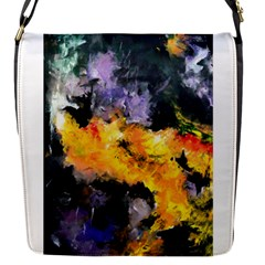 Space Odessy Flap Messenger Bag (s) by timelessartoncanvas