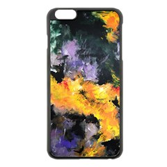 Space Odessy Apple Iphone 6 Plus Black Enamel Case by timelessartoncanvas
