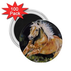 Mustang 2 25  Magnets (100 Pack)  by timelessartoncanvas
