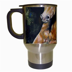 Mustang Travel Mugs (white) by timelessartoncanvas