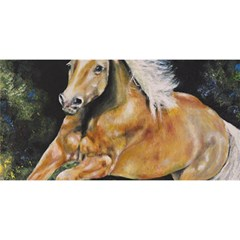 Mustang You Are Invited 3d Greeting Card (8x4)  by timelessartoncanvas