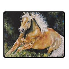 Mustang Double Sided Fleece Blanket (small)