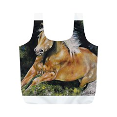 Mustang Full Print Recycle Bags (m)  by timelessartoncanvas