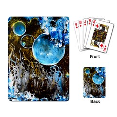 Space Horses Playing Card by timelessartoncanvas