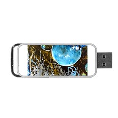 Space Horses Portable Usb Flash (two Sides) by timelessartoncanvas