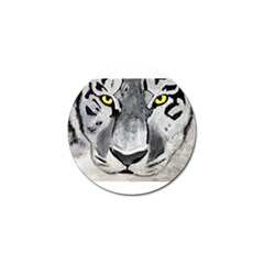 The Eye Of The Tiger Golf Ball Marker (4 Pack) by timelessartoncanvas