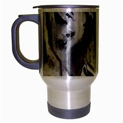The Eye Of The Tiger Travel Mug (silver Gray)