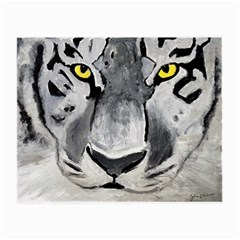 The Eye Of The Tiger Small Glasses Cloth by timelessartoncanvas