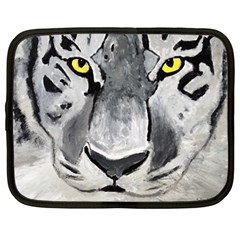 The Eye Of The Tiger Netbook Case (large)	 by timelessartoncanvas