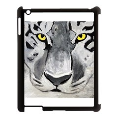 The Eye Of The Tiger Apple Ipad 3/4 Case (black) by timelessartoncanvas