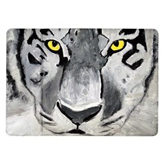 The Eye Of The Tiger Samsung Galaxy Tab 10 1  P7500 Flip Case by timelessartoncanvas